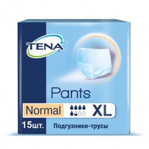 Подгузники-трусы TENA Pants Normal /ТЕНА Пантс Нормал, 15шт