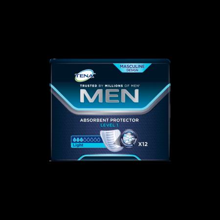 Вкладыши для мужчин TENA Men Level 1/ТЕНА МЕН, Уровень 1, 12 шт.