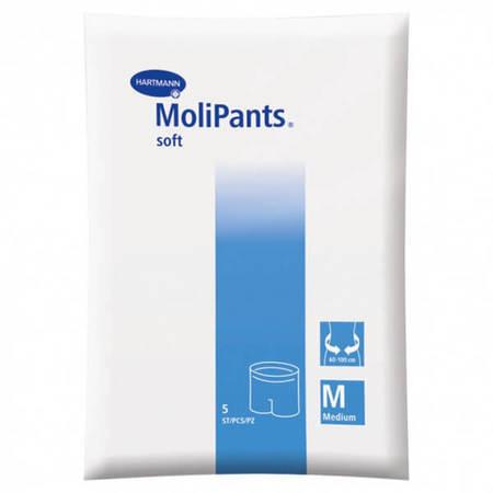 Удлиненные штанишки для фиксации прокладок MoliPants soft/МолиПанц софт, 5шт