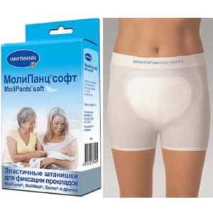 Удлиненные штанишки для фиксации прокладок MoliPants soft/МолиПанц софт, L, 1 шт