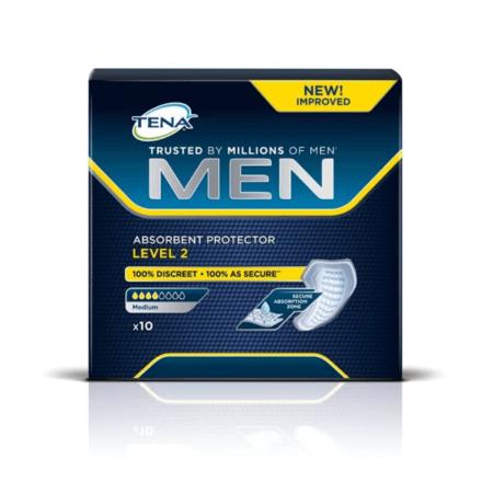 Вкладыши для мужчин TENA Men Level 2 /ТЕНА МЕН, Уровень 2, 10 шт.